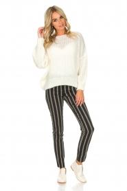 Patrizia Pepe |  Trousers Beppe | black  | Picture 2