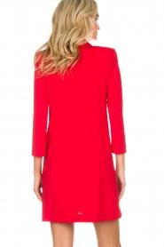 Patrizia Pepe | Blazer jurk Camila | rood  | Afbeelding 7