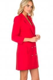 Patrizia Pepe | Blazer jurk Camila | rood  | Afbeelding 6