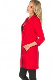 Patrizia Pepe | Blazer jurk Camila | rood  | Afbeelding 3
