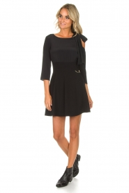 Patrizia Pepe |  Dress Giada | black  | Picture 3