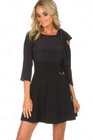 Patrizia Pepe |  Dress Giada | black  | Picture 4