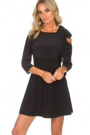 Patrizia Pepe |  Dress Giada | black  | Picture 2