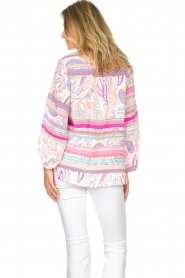 Alice & Trixie |  Silk top Melinda | pink  | Picture 6