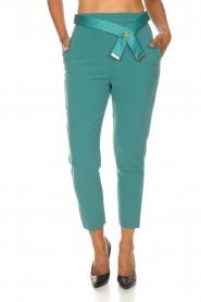 ELISABETTA FRANCHI | Pantalon Serena | blauw  | Afbeelding 3