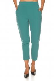 ELISABETTA FRANCHI | Pantalon Serena | blauw  | Afbeelding 4