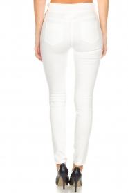 ELISABETTA FRANCHI | High waisted broek Penelope | wit  | Afbeelding 5