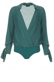 ELISABETTA FRANCHI |  Body blouse Monaet | blue  | Picture 1