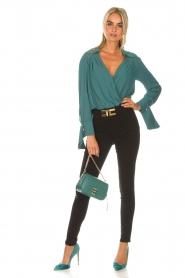 ELISABETTA FRANCHI |  Body blouse Monaet | blue  | Picture 3