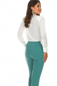 ELISABETTA FRANCHI | Body blouse Mireille | wit  | Afbeelding 6