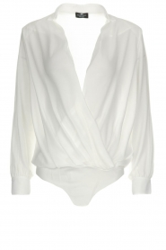 Body blouse Mireille | wit