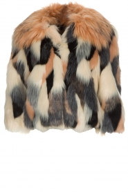 ELISABETTA FRANCHI | Faux fur jas Gigi | print  | Afbeelding 1
