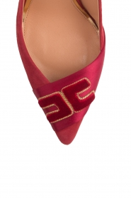 ELISABETTA FRANCHI |  Suede pumps Babette | red  | Picture 6