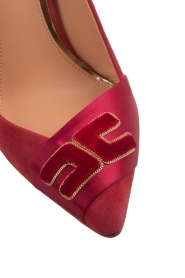 ELISABETTA FRANCHI |  Suede pumps Babette | red  | Picture 7