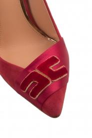 ELISABETTA FRANCHI |  Suede pumps Babette | red  | Picture 7
