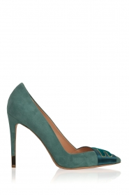 Suede pumps Babette | blue