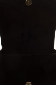 ELISABETTA FRANCHI | Imitatieleren schoudertas Stephane | zwart  | Afbeelding 5