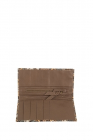 Tembi |  Leather wallet Snake | brown  | Picture 3