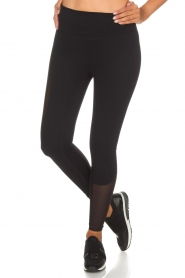 Casall |  Sports leggings Spiral | black  | Picture 4