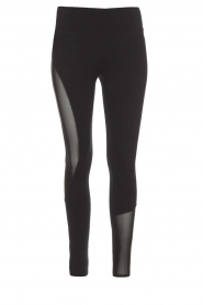 Casall |  Sports leggings Spiral | black  | Picture 1