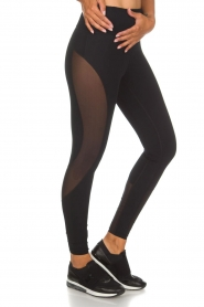 Casall |  Sports leggings Spiral | black  | Picture 3