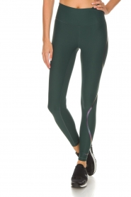 Casall |  Sport leggings Streamline | green  | Picture 4