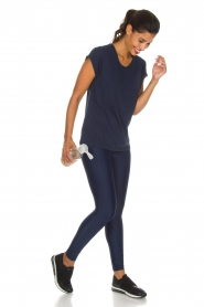 Casall |  Sports leggings Raw | navy  | Picture 2