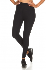 Casall |  Sports leggings Sculpture Laser | black  | Picture 4