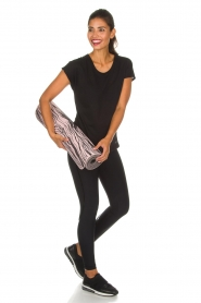 Casall |  Sports leggings Sculpture Laser | black  | Picture 2