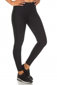 Casall |  Sports leggings Sculpture Laser | black  | Picture 3