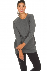 Casall |  Sweatshirt Crew | grey  | Picture 2
