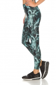 Casall |  Sports leggings Stone | green  | Picture 4