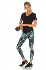 Casall |  Sports leggings Stone | green  | Picture 3