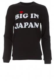 Zoe Karssen |  Sweatshirt Big in Japan | black  | Picture 1