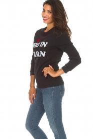 Zoe Karssen |  Sweatshirt Big in Japan | black  | Picture 4