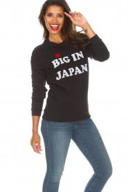 Zoe Karssen |  Sweatshirt Big in Japan | black  | Picture 2