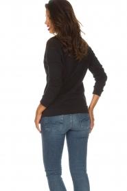 Zoe Karssen |  Sweatshirt Big in Japan | black  | Picture 5
