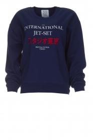 Zoe Karssen | Sweatshirt International | blauw  | Afbeelding 1