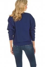 Zoe Karssen | Sweatshirt International | blauw  | Afbeelding 5