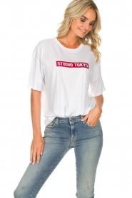 Zoe Karssen |  T-shirt Tokyo | white  | Picture 4