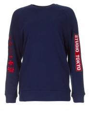 Zoe Karssen |  Sweatshirt Studio | blue  | Picture 1