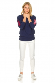 Zoe Karssen |  Sweatshirt Studio | blue  | Picture 3