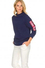 Zoe Karssen |  Sweatshirt Studio | blue  | Picture 4