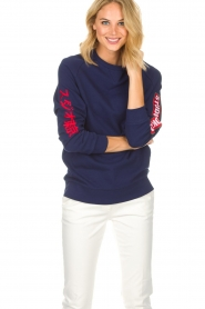Zoe Karssen |  Sweatshirt Studio | blue  | Picture 2