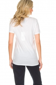 Zoe Karssen | T-shirt Private | wit  | Afbeelding 4
