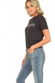 Zoe Karssen |  T-shirt Private | black  | Picture 4