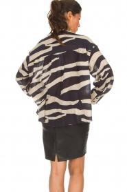 Zoe Karssen |  Leather skirt Mace | black  | Picture 5