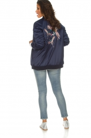 Zoe Karssen |  Bomber jacket Sem | blue  | Picture 7
