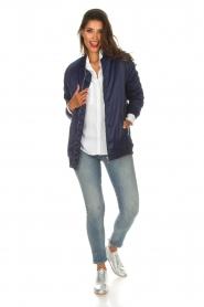 Zoe Karssen |  Bomber jacket Sem | blue  | Picture 3