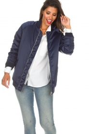Zoe Karssen |  Bomber jacket Sem | blue  | Picture 2